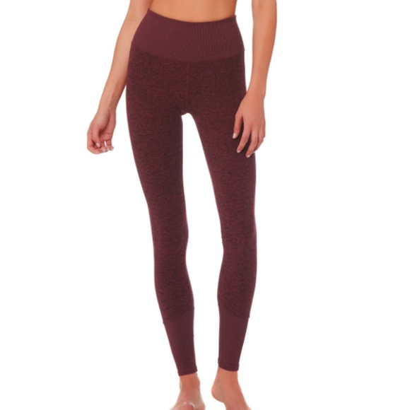 ebe919e25c3e ALO YOGA High-Waist Lounge Legging Black Cherry M
